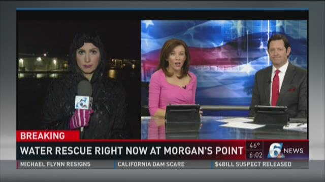 BREAKING: Water Rescue at Morgan's Point Resort