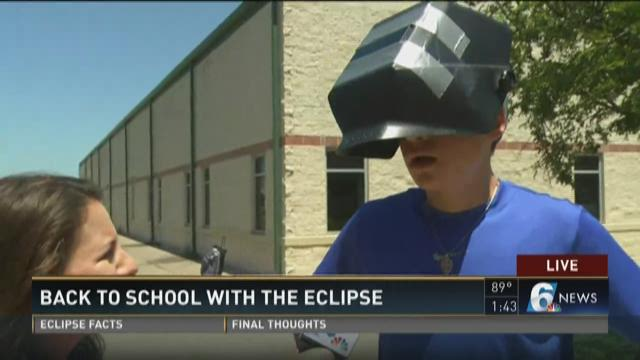 Back to school with the eclipse