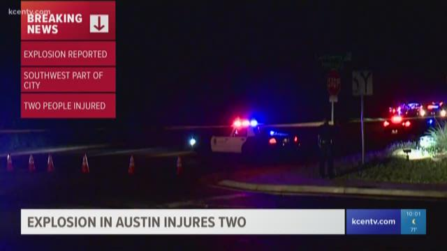 Austin Explosion Causes Injuries To Two People